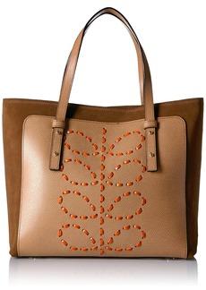 Orla Kiely Laced Stem Leather Tillie Bag