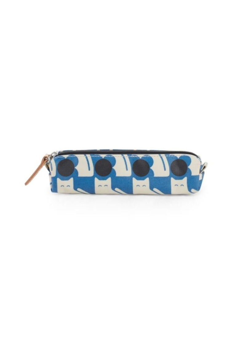 ORLA KIELY Poppy Cat Pencil Pouch