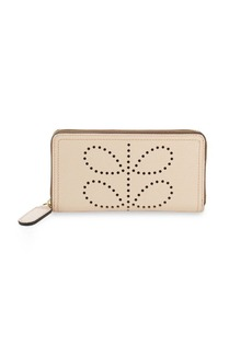 ORLA KIELY Textured Leather Wallet