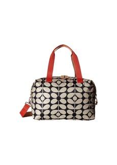 Orla Kiely Sixties Stem Nylon Luggage Medium Zip Holdall