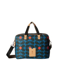 Orla Kiely Sixties Stem Vinyl Luggage Work Bag