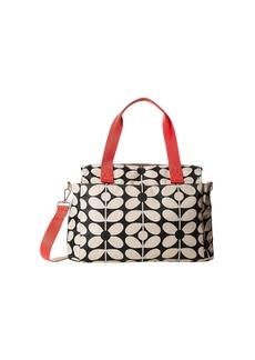Orla Kiely Sixties Stem Zip Messenger Baby Bag