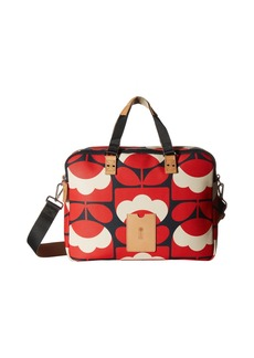 Orla Kiely Spring Bloom Vinyl Luggage Work Bag