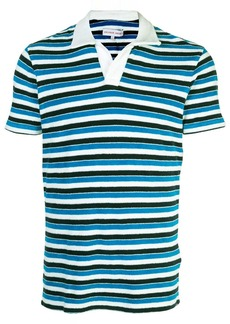 Orlebar Brown Bahama Blue Stripe T-shirt