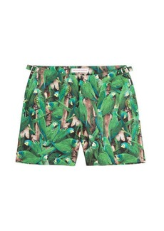 Orlebar Brown Bulldog Fauna Printed Slim Swim Shorts