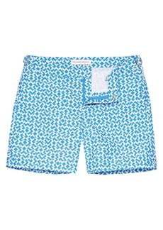 Orlebar Brown Bulldog Frecce Print Swim Shorts