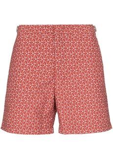 Orlebar Brown Bulldog Garda print swim shorts