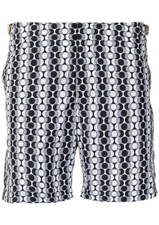 Orlebar Brown Bulldog geometric-print swim shorts