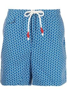 Orlebar Brown geometric-print swimming shorts