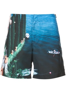 Orlebar Brown Lake Como printed shorts