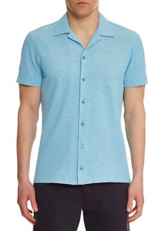 Orlebar Brown Men's Travis Pique Sport Shirt