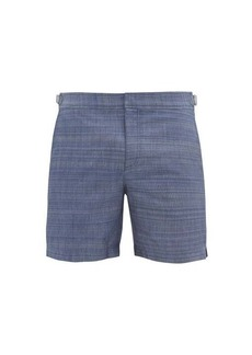 Orlebar Brown Bulldog chambray-effect swim shorts
