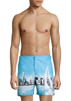 Orlebar Brown Bulldog City Graphic Swim Shorts