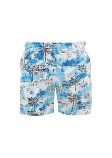 Orlebar Brown Bulldog Miami beach-print swim shorts