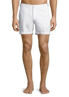 Orlebar Brown Cavrin Solid Linen Shorts
