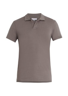 Orlebar Brown Felix cotton-jersey polo shirt