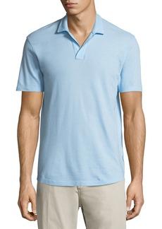Orlebar Brown Felix Waffle-Knit Polo Shirt