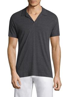 Orlebar Brown Heathered Cotton Polo