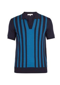 Orlebar Brown Horton stripe-intarsia shirt