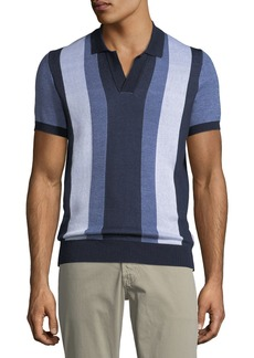 Orlebar Brown Horton Striped Polo Shirt