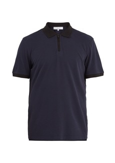 Orlebar Brown Jarrett half-zip cotton-piqué polo shirt