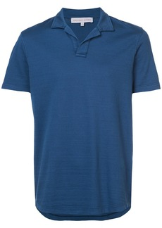 Orlebar Brown Massey SS polo - Blue