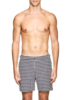 Orlebar Brown Men's Bulldog Geometric Swim Trunks