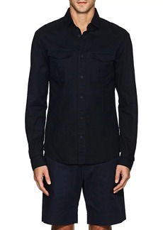 Orlebar Brown Men's Whitby Cotton Twill Shirt