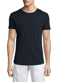 Orlebar Brown Solid Cotton Tee