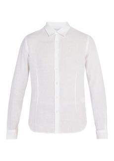 Orlebar Brown Morton tailored linen shirt
