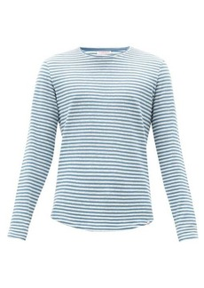 Orlebar Brown Ob-T cotton-blend long-sleeved T-shirt