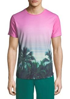Orlebar Brown Photographic Palms Cotton T-Shirt