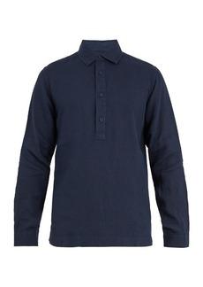 Orlebar Brown Ridley point-collar linen shirt