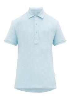 Orlebar Brown Sebastian cotton-terry polo shirt