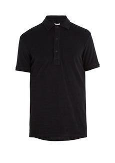 Orlebar Brown Sebastian French terry-towelling cotton polo shirt