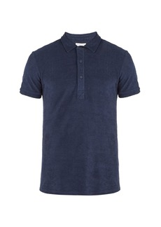 Orlebar Brown Sebastian terry-towelling cotton polo shirt