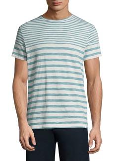 Orlebar Brown Stripe Short-Sleeve Cotton Tee