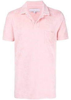 Orlebar Brown Terry polo shirt - Pink & Purple