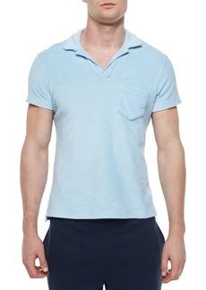 Orlebar Brown Terry Polo Shirt