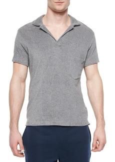 Orlebar Brown Terry Short-Sleeve Polo Shirt