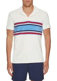 Orlebar Brown Terry Surf Stripe Shirt