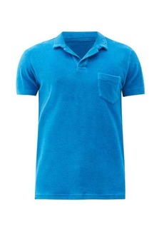 Orlebar Brown Terry chest-pocket cotton polo shirt