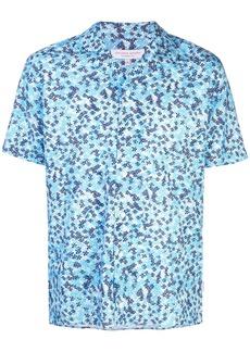 Orlebar Brown printed shortsleeved shirt