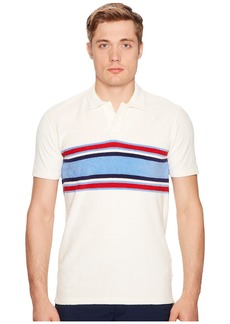 Orlebar Brown Terry Surf Stripe Polo
