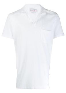 Orlebar Brown terrycloth polo shirt