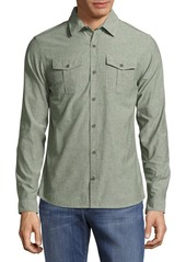 Orlebar Brown Textured Cotton Casual Button-Down Shirt