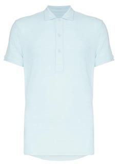Orlebar Brown towelling polo shirt