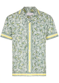 Orlebar Brown Travis print shirt
