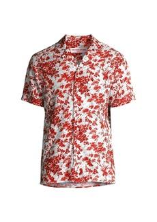 Orlebar Brown Travis Vintage Garden Print Shirt
