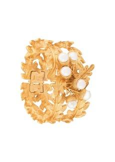 Oscar de la Renta acorn and leaf bracelet